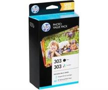 Inkjet HP 303 Value Pack nero/colore con 40ff 10X15 Z4B62EE